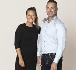 Christine Erritzøe og Sonni Hinze